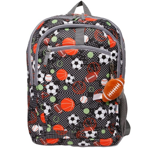 "Crckt 16.5"" Sports Print Kids' Backpack - image 1 of 8"