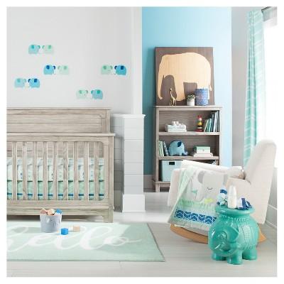Blue Elephant Parade Nursery Room Cloud Island