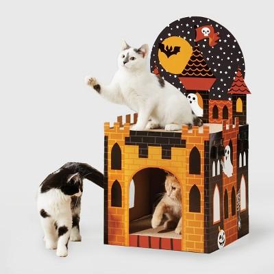 Double Decker Halloween Castle Cat Scratcher - Hyde & EEK! Boutique™
