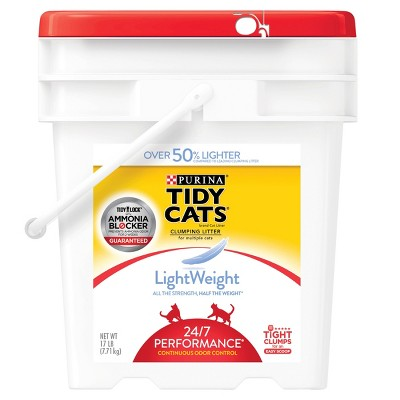 Purina® Tidy Cats Lightweight 24/7 Performance Multiple Cats Clumping Litter - 17lbs