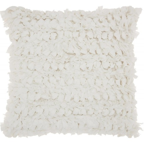 Nourison Paper Loop Shag Throw Pillow - image 1 of 3