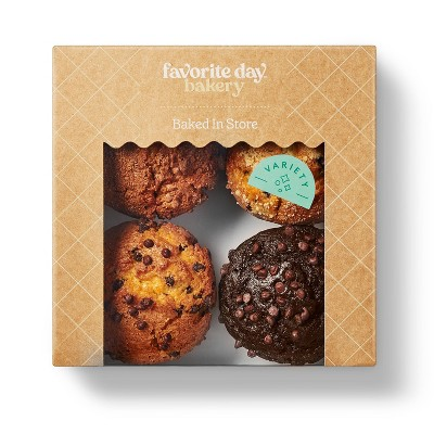 Variety Pack Muffins - 16oz/4ct  - Favorite Day™