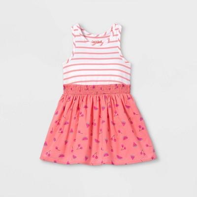 Toddler Girls' Fruit Print Tank Dress - Cat & Jack™ Pink