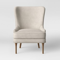 Cheswold Wingback Chair Beige - Threshold™