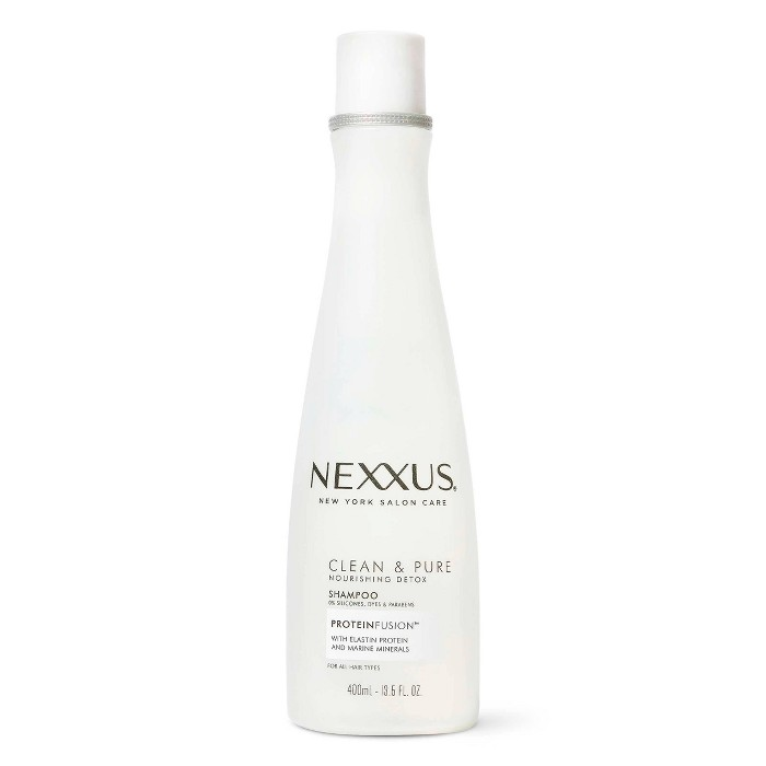 Nexxus Clean And Pure Clarifying Shampoo For Nourished Hair With ProteinFusion - 13.5 Fl Oz : Target