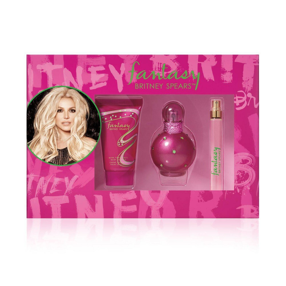 Image of Women's Britney Spears Fantasy Perfume Gift Set - 3pc