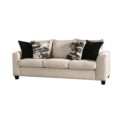 Tanner Angled Arm Sofa Ivory - HOMES: Inside + Out
