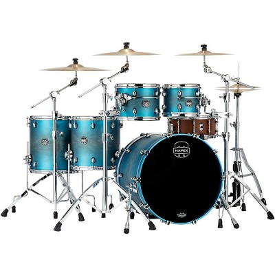 Mapex Saturn Evolution Workhorse Maple 5-Piece Shell Pack With 22 in. Bass Drum Exotic Azure Burst