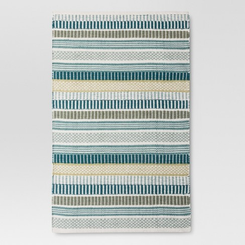 "Stripe Woven Accent Rug - (2'6""X4') - Threshold™ - image 1 of 2"
