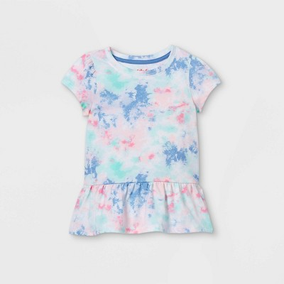 Toddler Girls' Peplum T-Shirt - Cat & Jack™