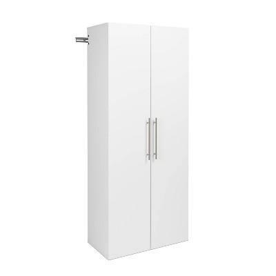 Hangups Shoe Storage Cabinet White - Prepac