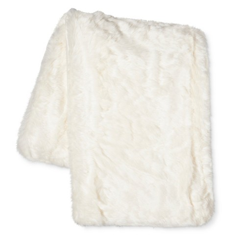 Faux Fur Throw - Threshold™ - image 1 of 1