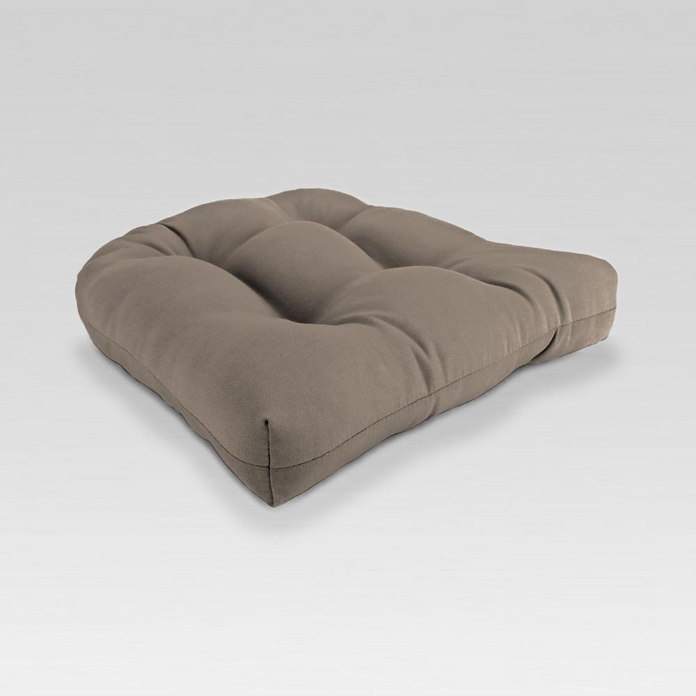 Outdoor Wicker Chair Cushion - Brown - Jordan Manufacturing