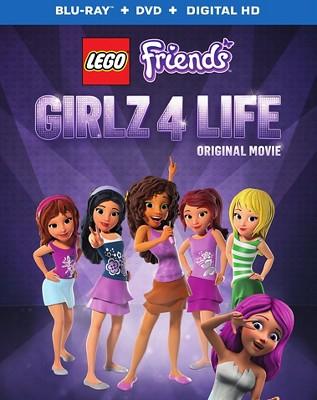 Lego Friends Girlz 4 Life Blu Ray 2 Discs Target