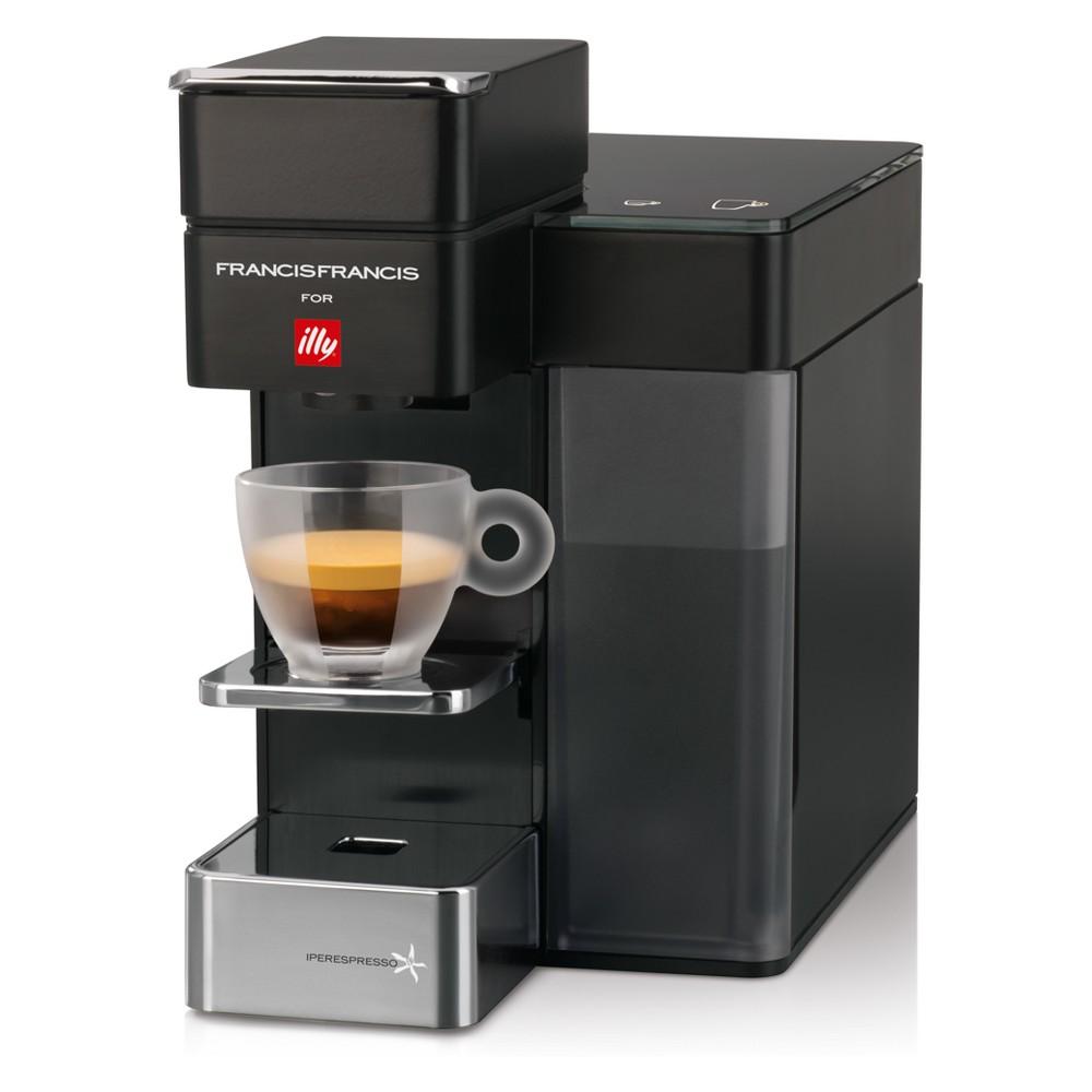 Image of illy Y5 Iperespresso Espresso & Coffee Machine - Black
