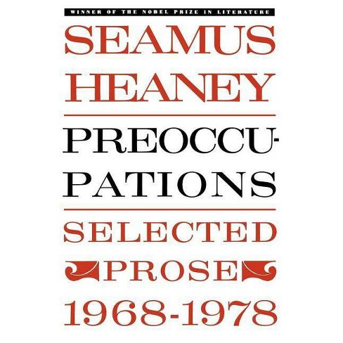 Preoccupations - by  Seamus Heaney (Paperback) - image 1 of 1