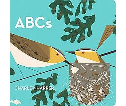 ABC's (Illustrated) (Board) by Charley Harper - image 1 of 1