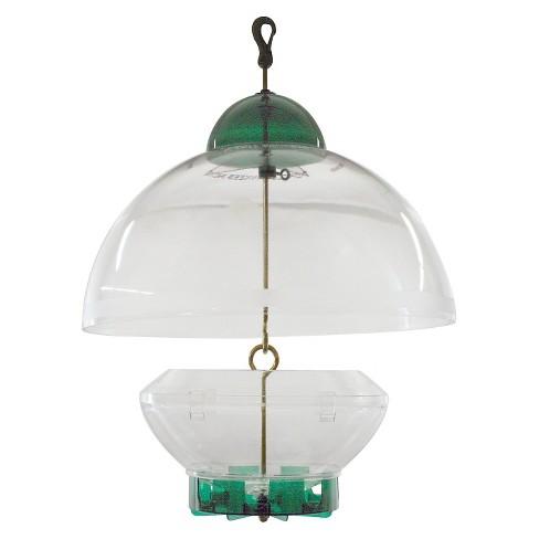 Droll Yankees Big Top Bird Feeder - Green - image 1 of 3