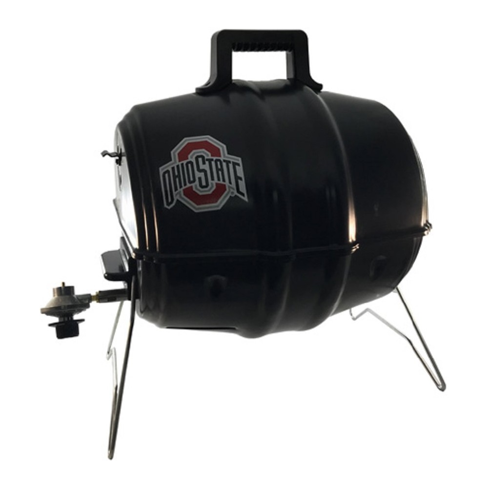 Keg-a-Que NCAA Ohio State Gas Grill 10123 Black 53654335
