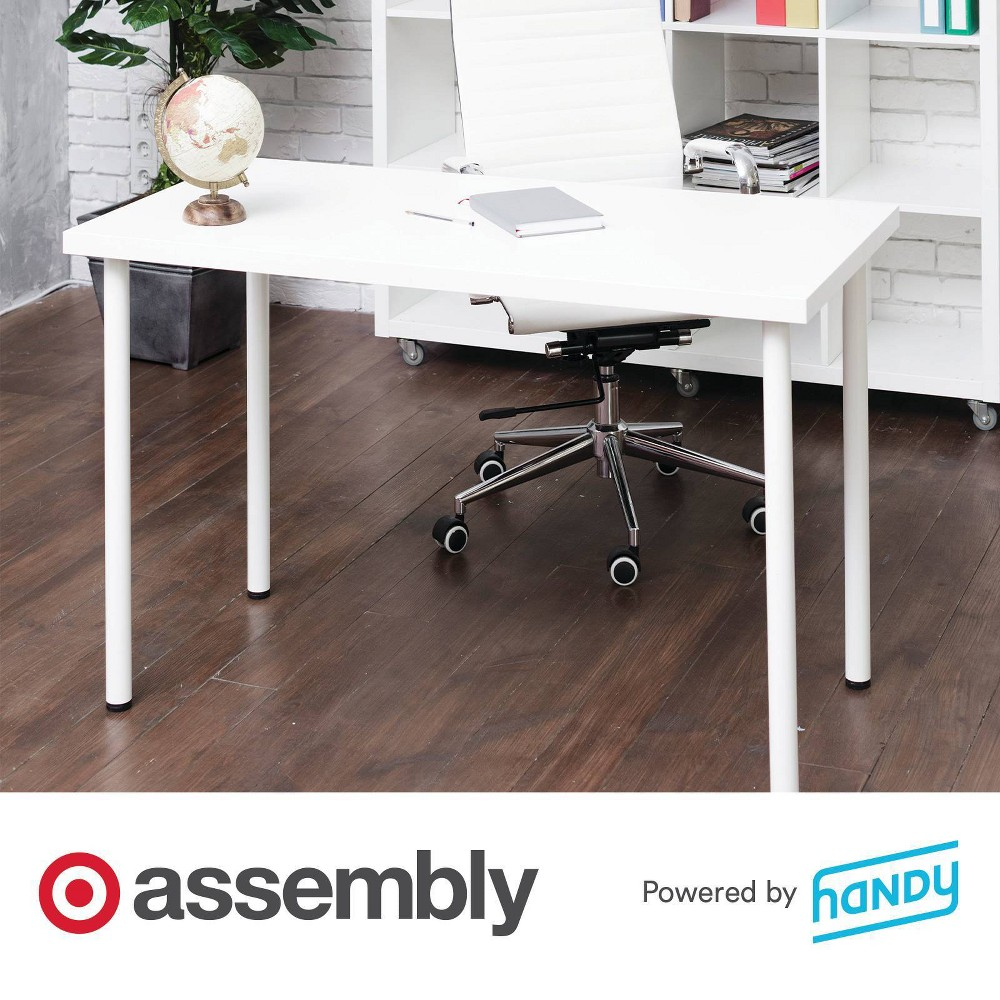 Desk Assembly Powered By Handy