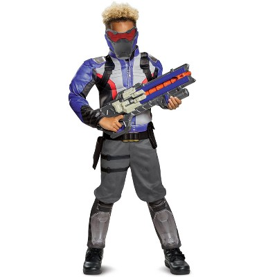Overwatch Soldier 76 Classic Muscle Child Costume