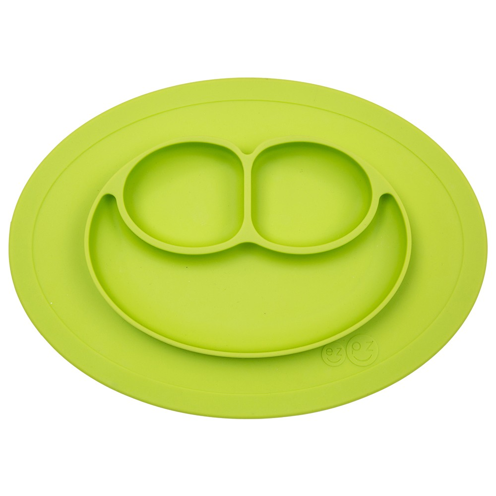 Image of ezpz Mini Mat - Lime Green