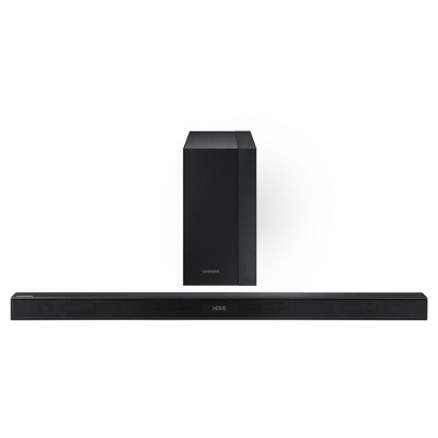 Samsung 2.1 HW-K45 Sound Bar with 300 W Wireless Sub - Black