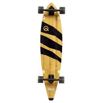 """Quest 40"""" Bamboo Longboard Skateboard"""