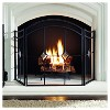 Pleasant Hearth Diamond Fireplace Screen Espresso - image 2 of 2