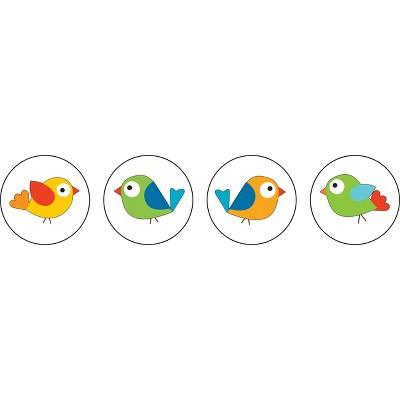 CARSON-DELLOSA Boho Birds Chart Seals Grades PK - 8 168137
