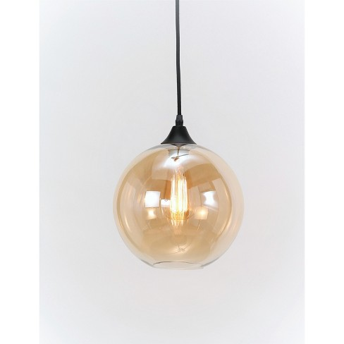 Bristol Single Light Pendant Yellow Abbyson Living