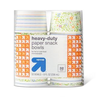Heavy Duty Paper Snack Bowls - 32ct - Up&Up™