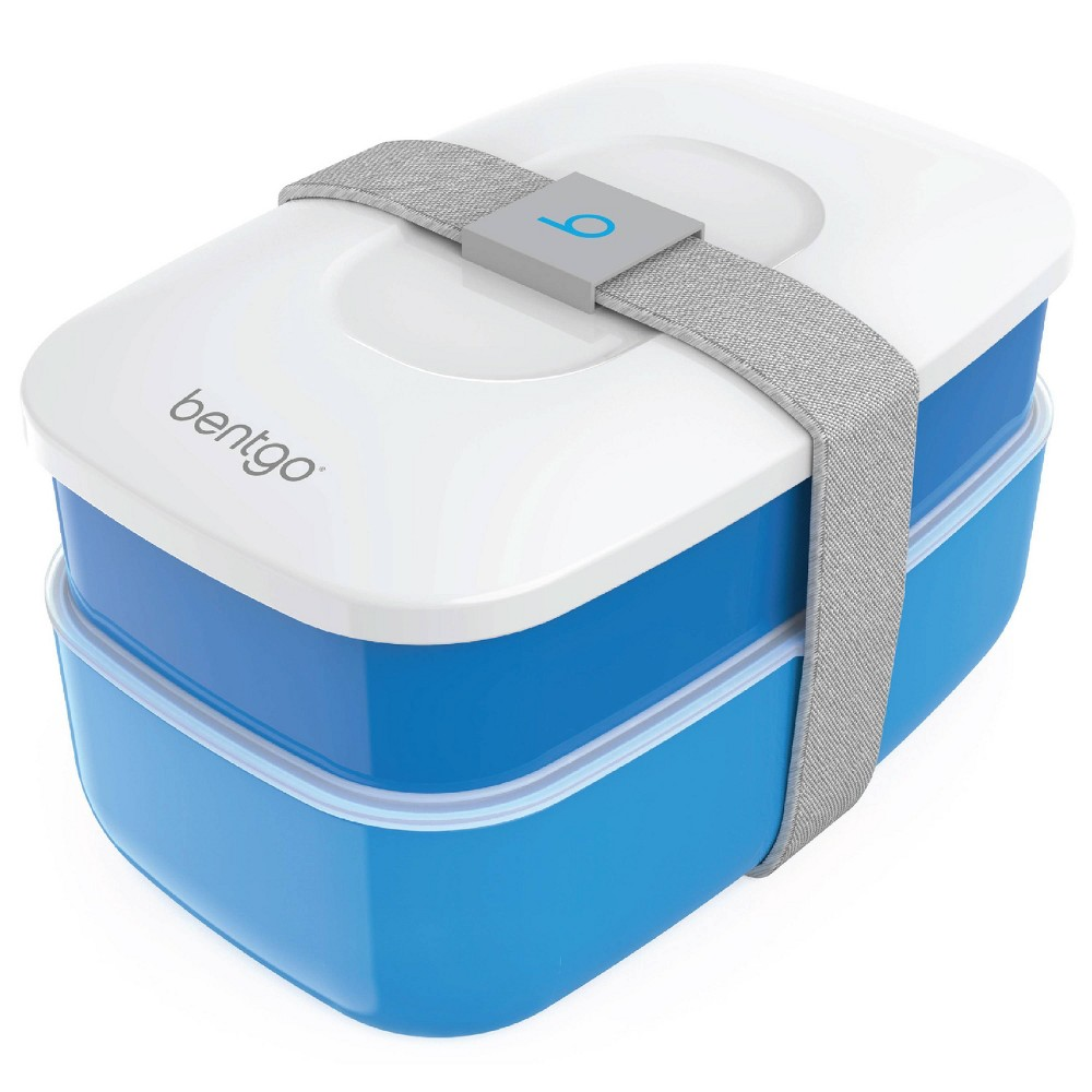 Image of Bentgo All-in-One Stackable Lunch Box - Blue