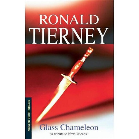 The Glass Chameleon - (Severn House Large Print) by  Ronald Tierney (Hardcover) - image 1 of 1