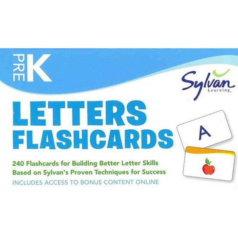 Letters Flashcards Pre-K (Paperback) - image 1 of 1