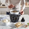 Oster DiamondForce Nonstick 6-Cup Electric Rice Cooker - Black - image 4 of 4