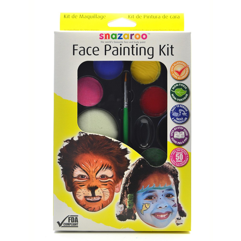 Image of Halloween Costume Makeup snazaroo, craft activity kits