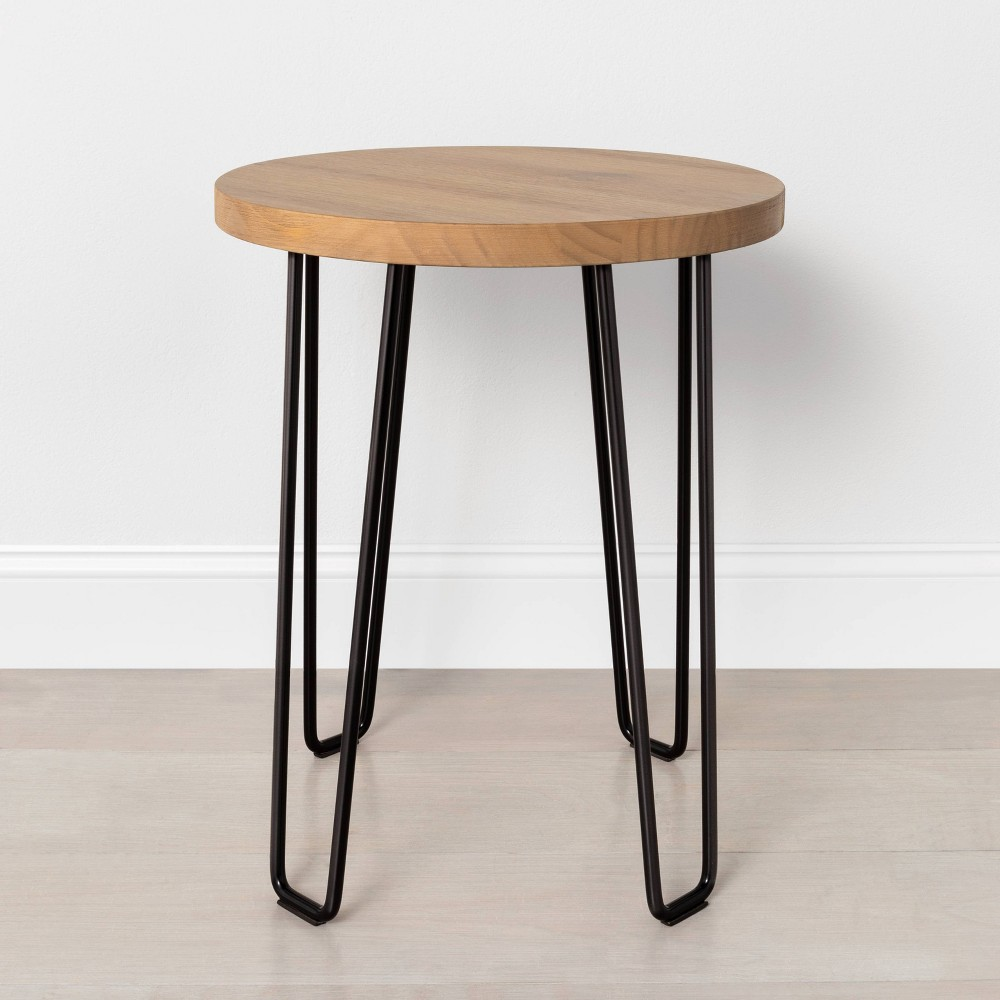 Image of Hairpin Accent Table - Hearth & Hand with Magnolia