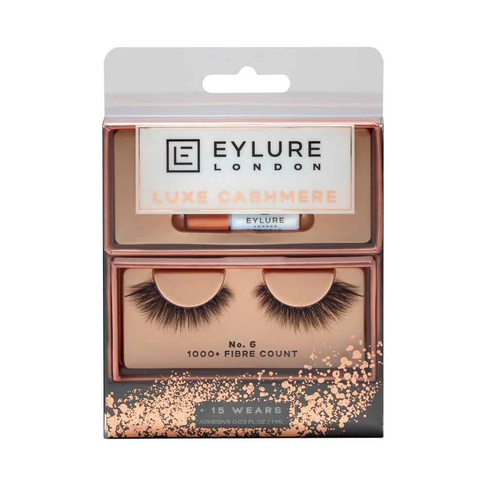 Image of Eylure False Eyelashes Luxe Cashmere No. 6 - 1 pr