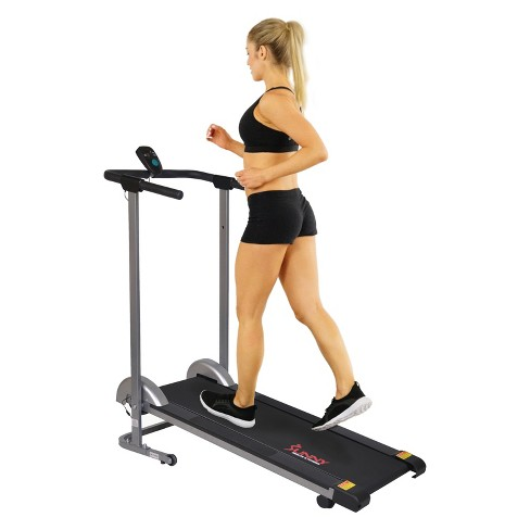 Sunny Health and Fitness (SF-T1407M) Manual Walking Treadmill - image 1 of 3