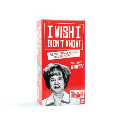 I Wish I Didn't Know! Card Game