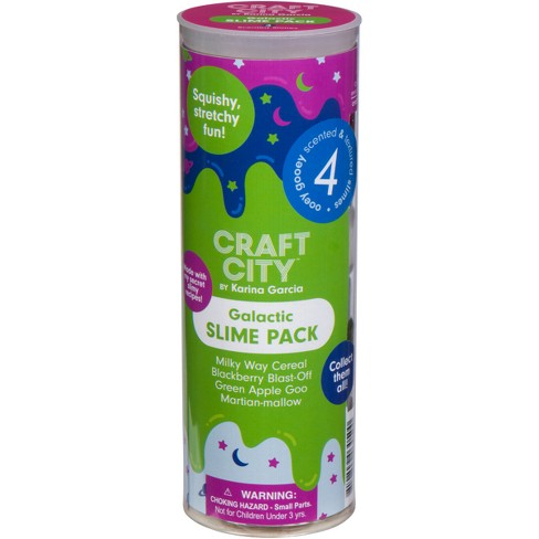 Karina Garcia 4pk Collectible Slime- Galactic Slime by Craft City - image 1 of 5