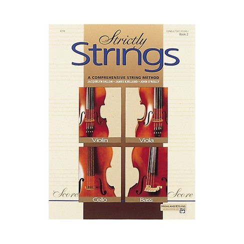 Alfred Strictly Strings Book 2 Conductor's Score - image 1 of 1