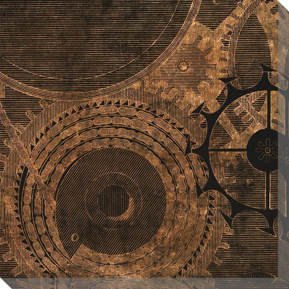 Image of Inner Workings 1 Unframed Wall Canvas Art - (24X24)