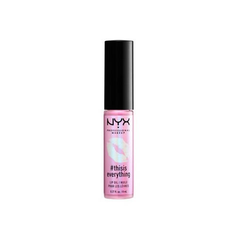 NYX Professional Makeup #thisiseverything Lip Oil Sheer - 0.27 fl oz - image 1 of 3