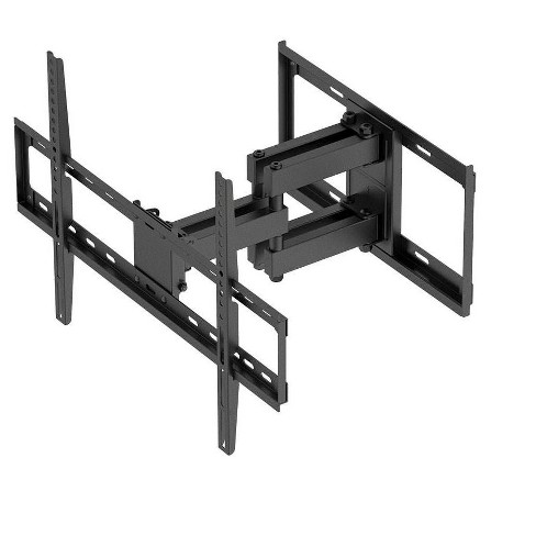 "Titan Series Full Motion Dual Stud Single Arm Wall Mount For Large Up to 70"" Inch TVs Displays, Max 99 LBS. 200x200 to 600x400, Black - image 1 of 4"