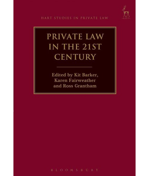 Private Law in the 21st Century (Hardcover) - image 1 of 1