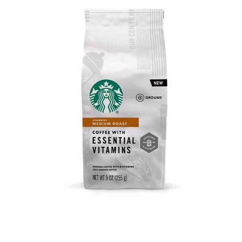 Starbucks Essential Vitamins Ground Medium Roast - 9oz - image 1 of 4
