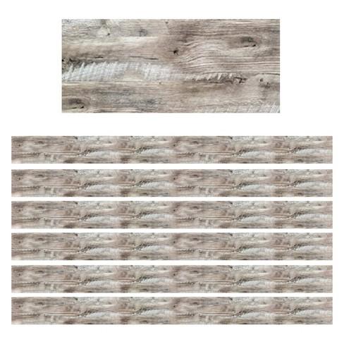 6pk 35ft Rustic Wood Classroom Borders - Creative Teaching Press - image 1 of 1
