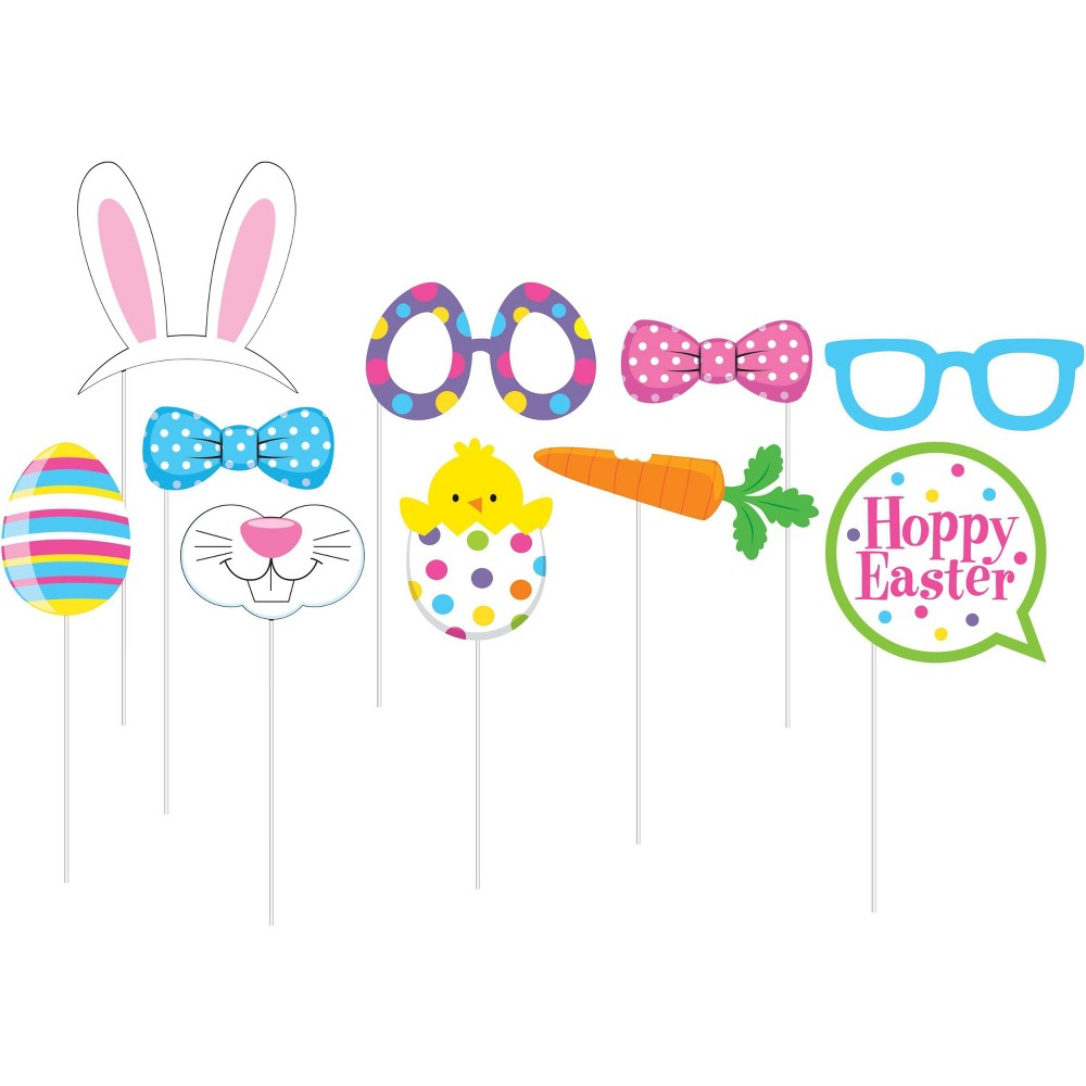 Image of Easter Photo Booth Kit, wearable party accessories